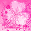 Image of GO Launcher Pink Theme Flowers