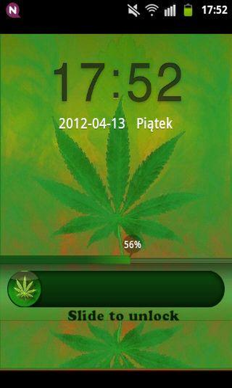 GO Locker Theme WEED GANJA screenshot 1