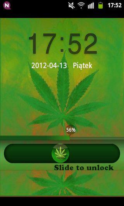GO Locker Theme WEED GANJA screenshot 2