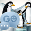 Image of GO SMS Pro Theme Penguins