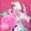 Image of GO SMS PRO Theme Pink Pony