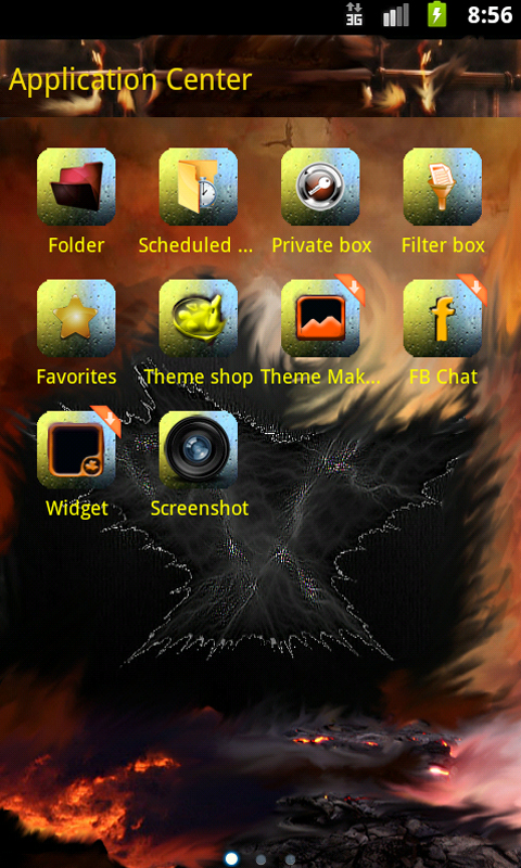 GO SMS Pro Theme tropical app for android Review & Download .APK file