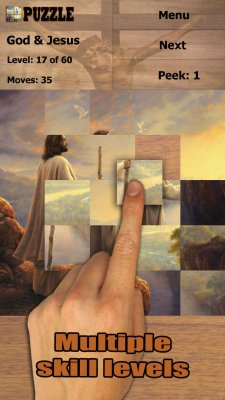 God and Jesus Jigsaw Puzzles screenshot 1