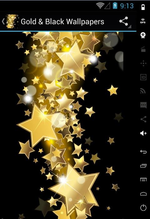 gold and black hd wallpapers free app download android