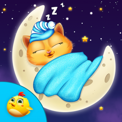 Good Night Kitty For Kids
