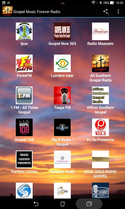 Gospel Music for Android - download.cnet.com