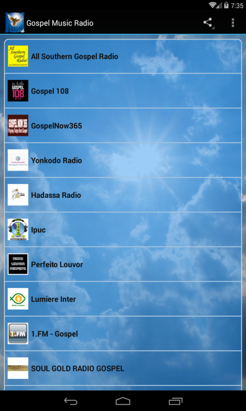 Gospel Music Radio screenshot 1