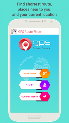 GPS Route Finder with Maps screenshot 2