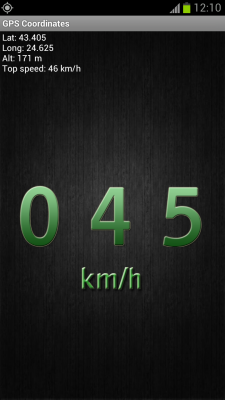 GPS Speedometer and Flashlight screenshot 2