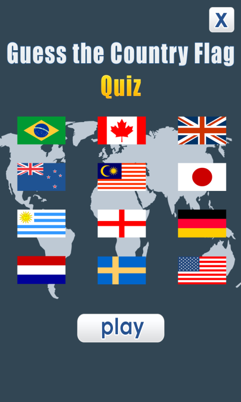 Guess the Country Flag - Quiz screenshot 1