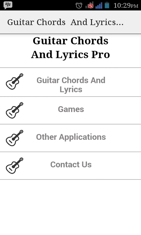 Guitar guitar chords and lyrics : Guitar Chords And Lyrics Pro free app download for Android