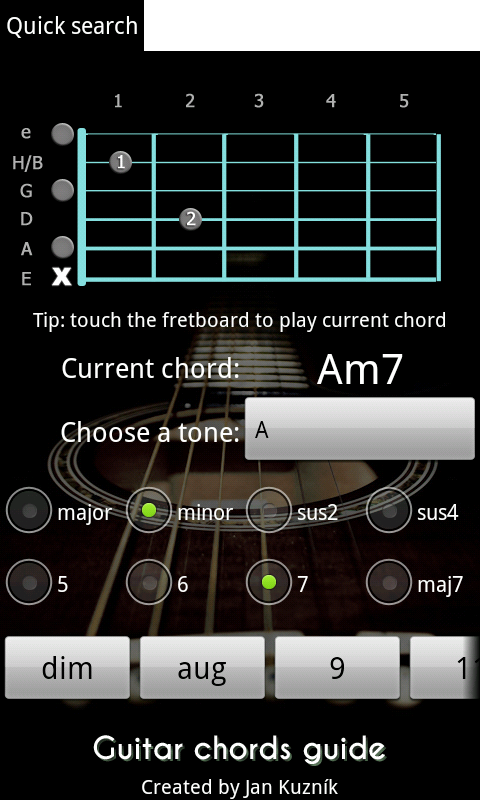 Guitar Chords Guide screenshot 1