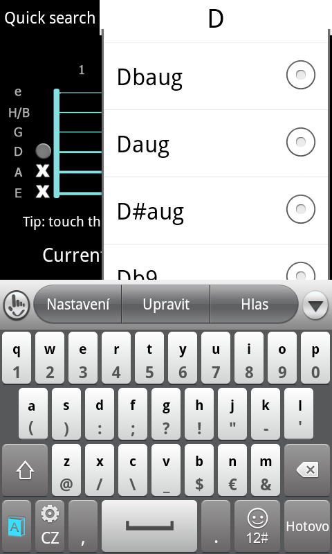 Guitar Chords Guide free app download - Android Freeware
