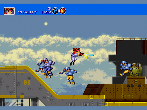 Gunstar Heroes screenshot 1