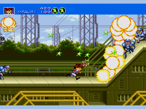 Gunstar Heroes screenshot 2