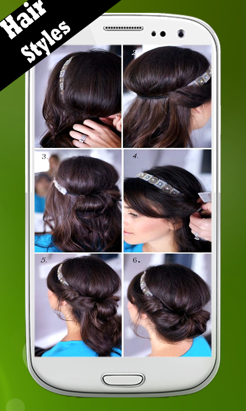 Hair Styles Step By Step Android Download