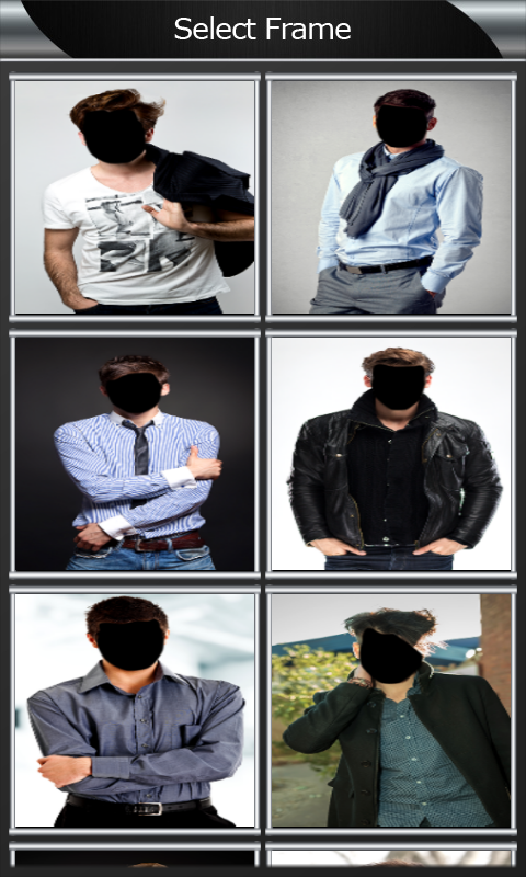 Hairstyle Changer For Men free android app - Android Freeware