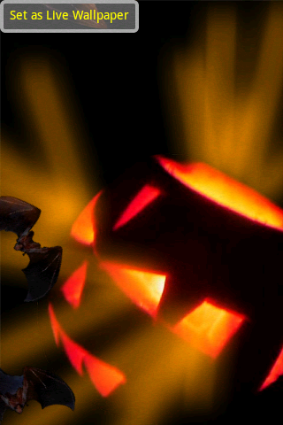 halloween live wallpaper free app download android freeware