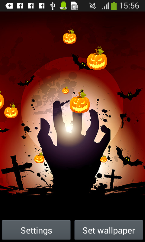 halloween live wallpapers free free app download android