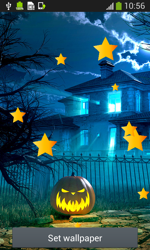 halloween live wallpapers top free android apps android