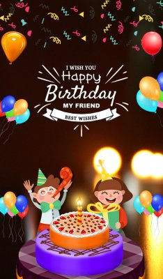 download happy birthday animated