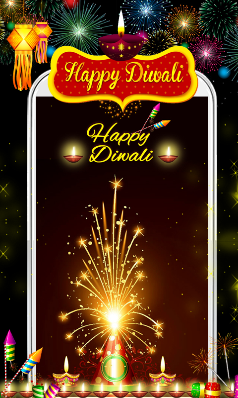 Download Happy Diwali Live Wallpaper New free for your Android phone