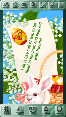 Happy Easter Holiday Greetings screenshot 2