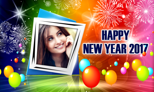 Happy New Year 2017 Frames free app download - Android Freeware