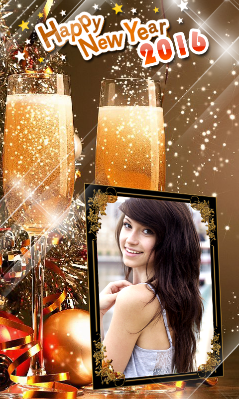 Happy New Year Frames 2016 free APK android app - Android Freeware