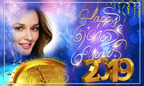 Happy New Year Photo Frame 2019 Android Download