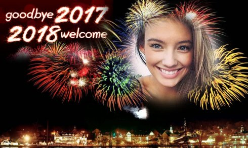 Picture frame happy new year free download images hd video