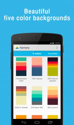 Harmony 5 color wallpapers screenshot 1