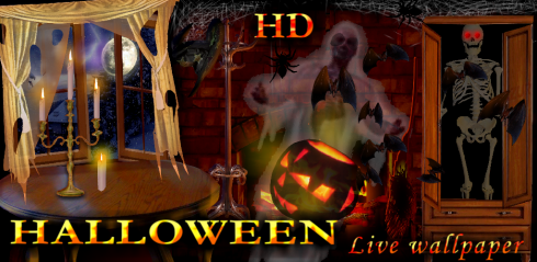 hd halloween live wallpaper free app download android