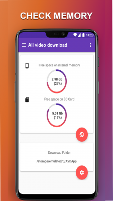 HD Video Downloader Top video mate 2018 screenshot 1