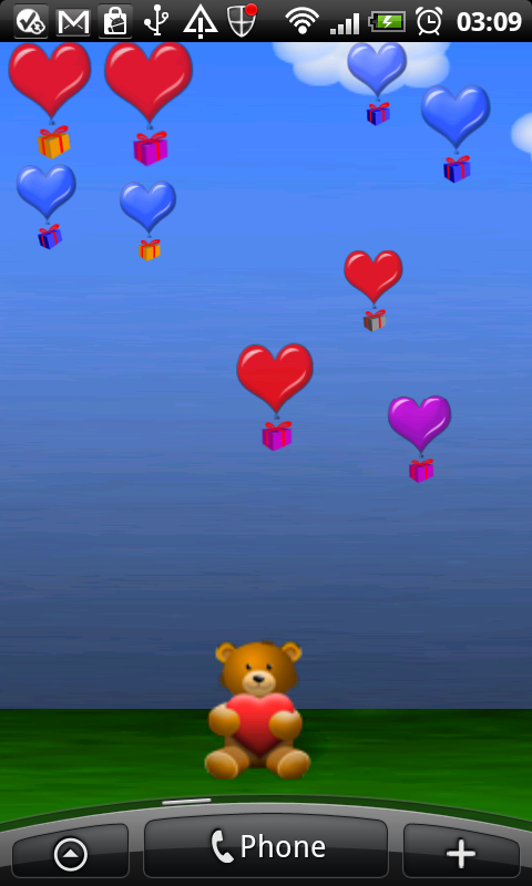 Heart Balloons Deluxe screenshot 1
