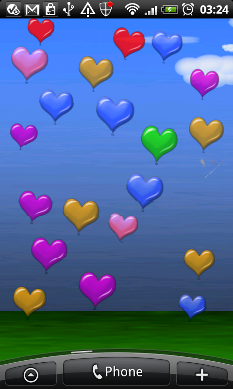 Heart Balloons Deluxe screenshot 2