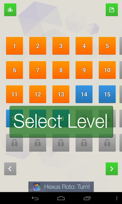 Hexus Puzzles screenshot 1