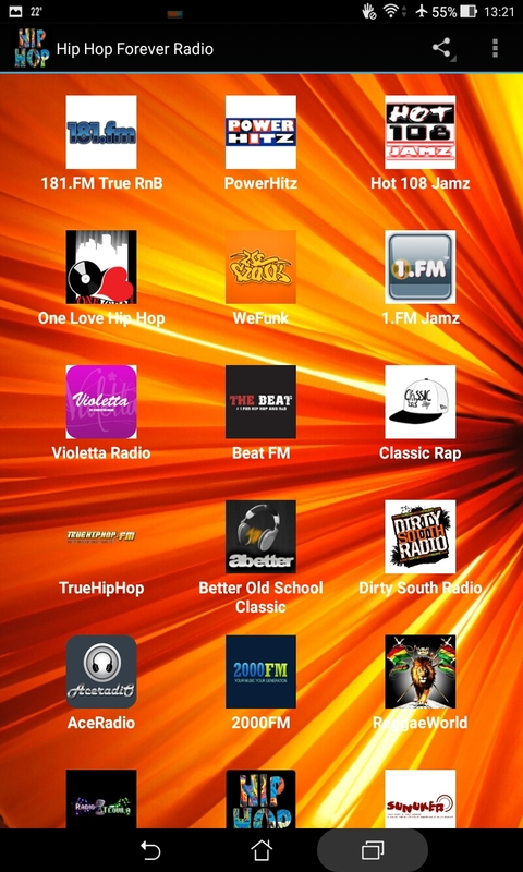 Hip Hop Forever Radio screenshot 1