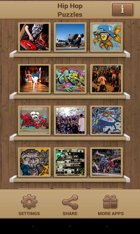 Hip Hop Puzzles screenshot 1
