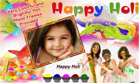 download holi photo frame