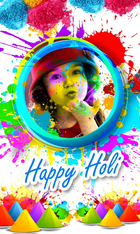download holi photo frames