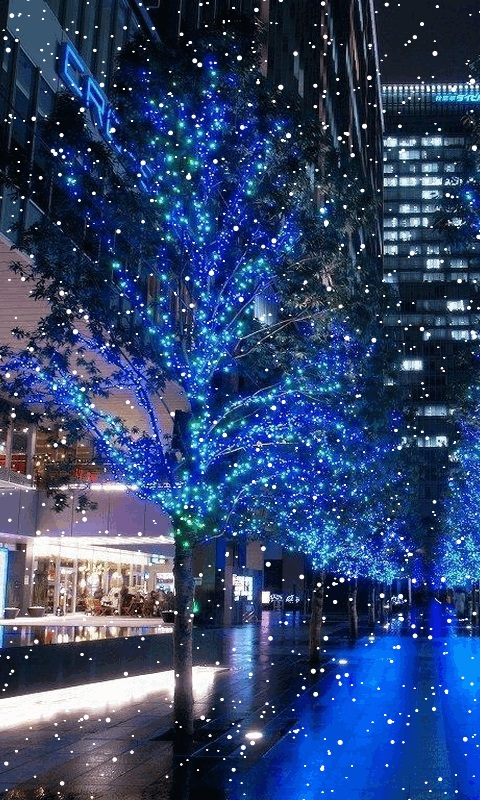 Download Holiday Snow Live Wallpaper