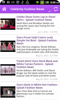 Hollywood Celebrity News Tracker screenshot 2