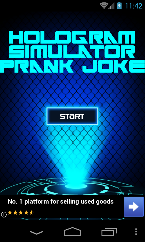 Hologram Simulator Prank Joke screenshot 2