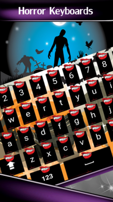 Horror Keyboards screenshot 1