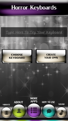 Horror Keyboards screenshot 2