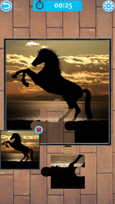 Horse Jigsaw Puzzle screenshot 2