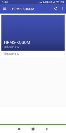 HRMS-KOSUM screenshot 1