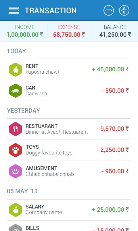best daily expense tracker app for android