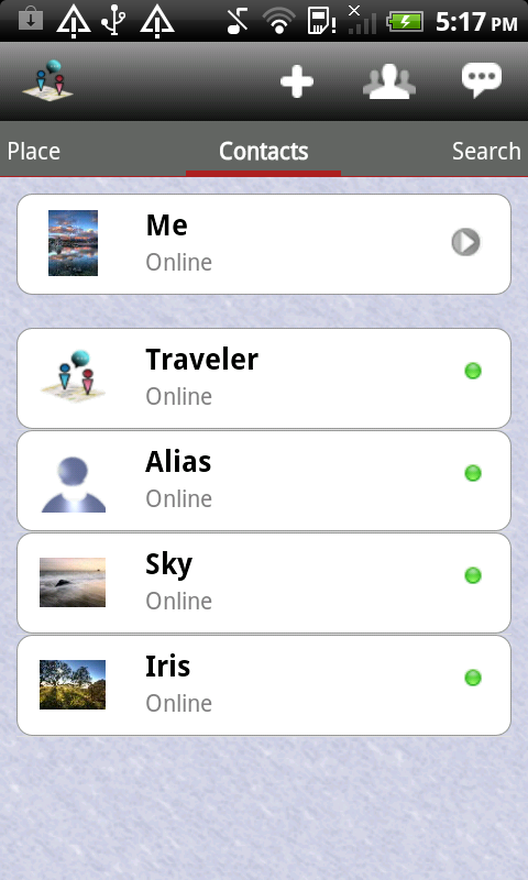 IM Map Navigator LE  - Mobile Phone Tracker and Chat screenshot 1